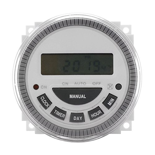 how to set pool timer switch