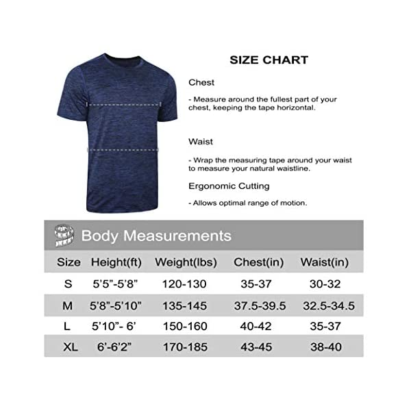 5 Pack Men's Active Quick Dry Crew Neck T Shirts   Athletic Running Gym Workout Short Sleeve Tee Tops Bulk 20