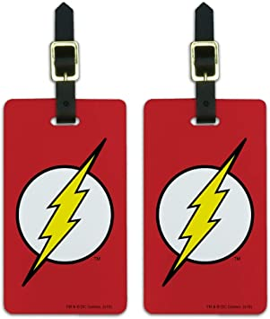 The Flash License Plate Superhero Auto Tag Red Leather Barry Allen DC Comics