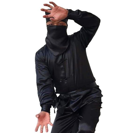Amazon.com: Disfraz de ninja de Stealth, unisex, traje ...