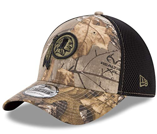 New Era Washington Redskins NFL 39THIRTY Realtree Neo Flex Fit Camo Hat (Flex Fit Camo Cap)