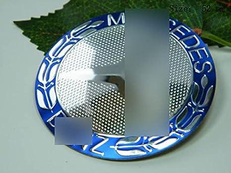 R151 2 x Pegatinas para Ruedas y llantas 52 mm diámetro centro de rueda Cap escudo autoadhesiva para: Amazon.es: Coche y moto