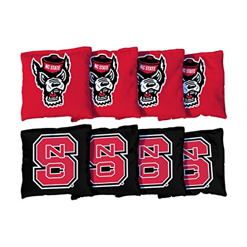 Nc State Wolfpack Bag - Victory Tailgate 8 North Carolina State NC State Wolfpack Regulation Cornhole Bags (corn filled)
