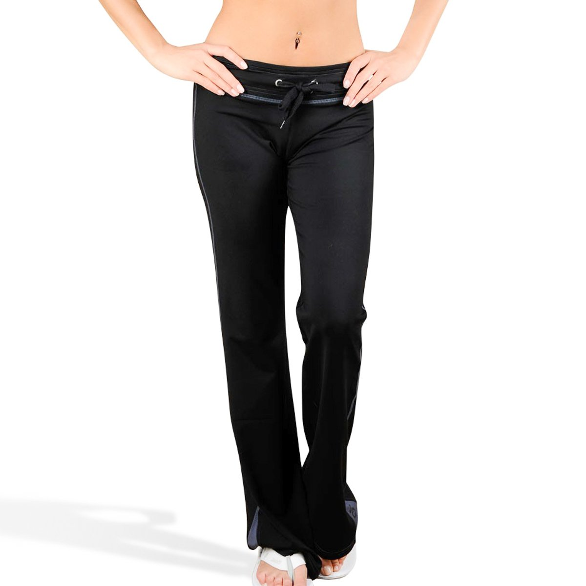 Jaco Athletic Pants for Women Large Black Yoga Pants Gym Clothes MMA Running Crossfit Pilates Sports