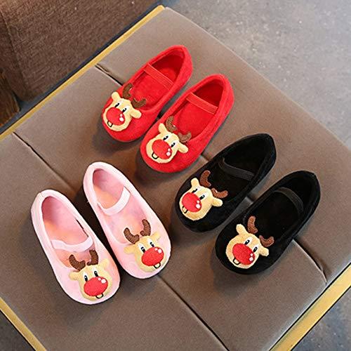 Zapatos De Invierno Estilo Frijol Niños Livianos Azalea Niñas Navideño Princesa Antideslizante Y Para Suela Terciopelo dR5wq5gnZa