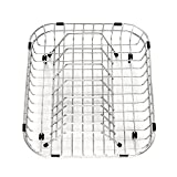 Franke Sink Edox33229 1 Franke FDBR10S Stainless Steel Custom Fit Drain Basket/Plate Rack for Select FrankeUSA Sink Models