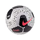 Nike Premier League Strike Soccer Ball (White/Black/Pink, 5)