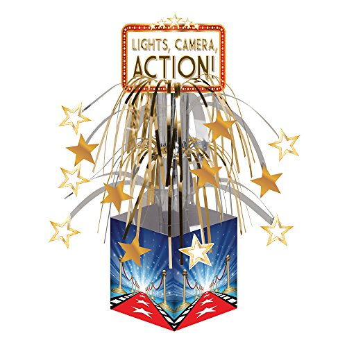 Creative Converting (315202) Hollywood Lights Mini Centerpiece Cascade
