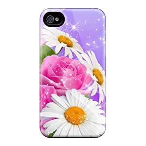 Sparkling Flowers For [inspi] Cases Compatible With Iphone 6/ Hot Protection Cases