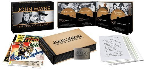 John Wayne: The Epic Collection (with Amazon Exclusive Duke Belt Buckle) (2014) by Warner Home Video by Various by Warner Manufacturing