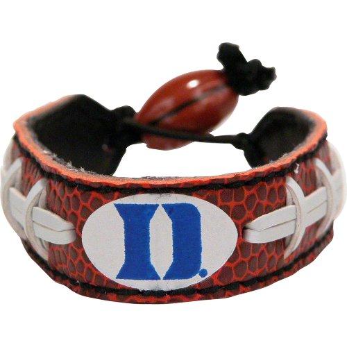 - NCAA Duke Blue Devils Classic Football Bracelet