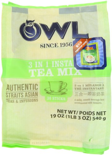 Owl Instant Milk Tea 3 In 1, 540-Grams (Pack of 3)