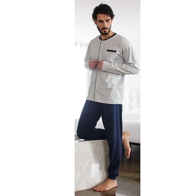 KLER - Pijama Hombre Hombre Color: Azul Talla: Medium
