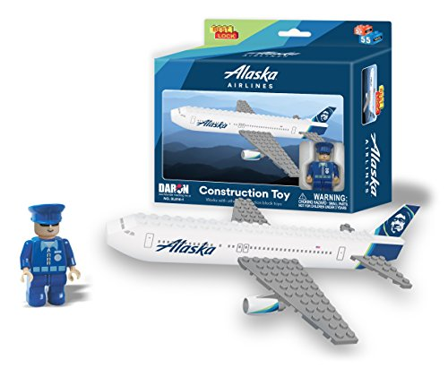 200 Alaska Airlines (Daron Alaska Construction Toy (55-Piece))