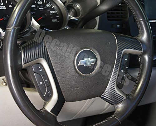 Silverado Carbon Steering Overlay Decal product image