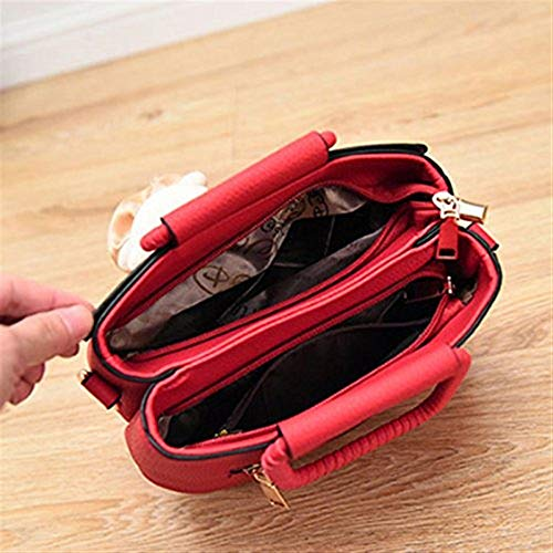 Nero casual Moontang Gilr pelle tracolla in borsa Nero di tracolla a Dimensione a messenger piccola borsa tracolla per Borsa a Colore qq64OawUr