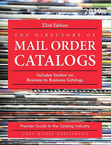 Directory of Mail Order Catalogs, 2019: Print Purchase Includes 1 Year Free Online Access