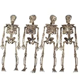 Halloween Decorations Props Decaying Skeleton Hanging 5ft Garland (Small Image)