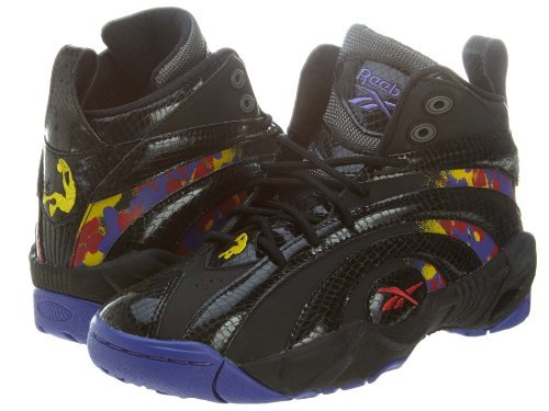 9ad8801eb430 Galleon - Shaqnosis OG Kids GS (Escape From LA) In Black Grey Purpleby  Reebok