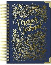 Prayer Journal for Women: An Inspirational Christian Bible Journal, Prayer Notebook & Devotional (Premium Gold Spiral-Bound Hardcover)