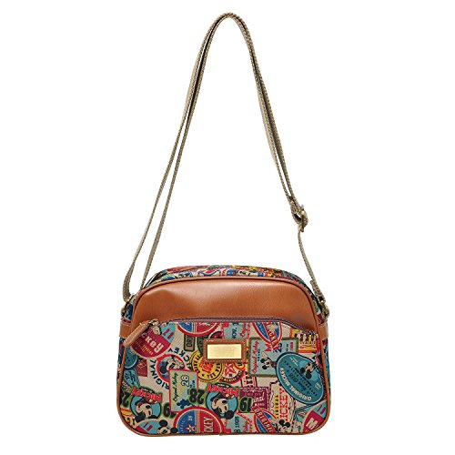 A26 Mickey Women Travel Bag Cross Disney Shoulder Body Small Casual Brown Mouse r5Rw5axq