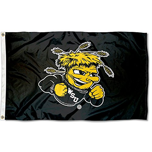 WSU Wichita State Shockers 3x5 Flag
