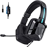TRITTON Kama plus [Upgraded with OVER-EAR Ear Cups], Gaming Headset with mic, for Sony PS4,Nintendo Switch,macbook Pro/Air,laptop,and more