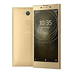 Sony Xperia L2 (H4331) 3GB / 32GB 5.5-inches Factory Unlocked - International Stock No Warranty (Gold)
