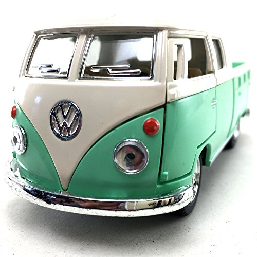 Kinsmart 1963 Volkswagen VW Classical BUS DOUBLE CAB Pick Up 1:34 DieCast Model Toy Car Collectible Hobby Collection