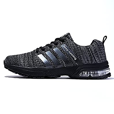 2aeb7e68a1b65 XIDISO Mens Womens Running Shoes Air Cushion Sneakers Lightweight Athletic  Tennis Sport Shoe for Men