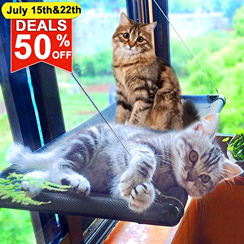 Cat Bed Window Perch Hammock Sunny Seat for