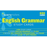 English Grammar SparkNotes Study Cards