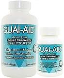 600 Guai-Aid 600mg''Ultra-Pure'' Guaifenesin Veg. Capsules (includ 100 Size Bottle)