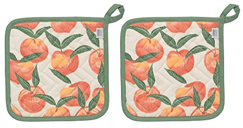 Now Designs Basic Potholder Peaches