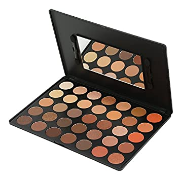 Amazon.com : KARA Beauty Professional Makeup Palette ES04, 35 Color Bright Natural Eyeshadow : Beauty