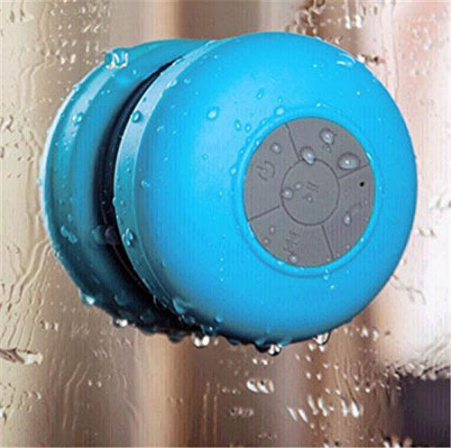 Soundlovers - Showerspeaker - Wireless Bluetooth Connection, Suction Cup included, Water Resistant, Control Buttons