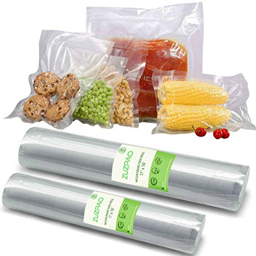 Zuzpao Vacuum Seal Bags Rolls BPA Free, 11