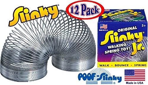 poof-slinky-model-125-original-metal-slinky-jr-junior-silver-12-pack