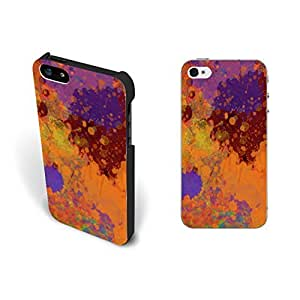 Colorful Print Abstract Art Pattern Iphone 5 Case Cover Unique Hipster Custom Design Hard Plastic Iphone 5s Case Screen Protector Personalized.