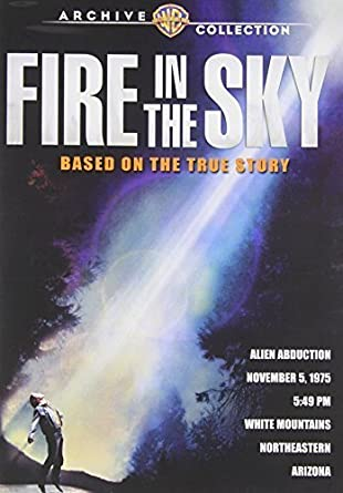 Amazon com: Fire in the Sky by Warner Archive / Paramount