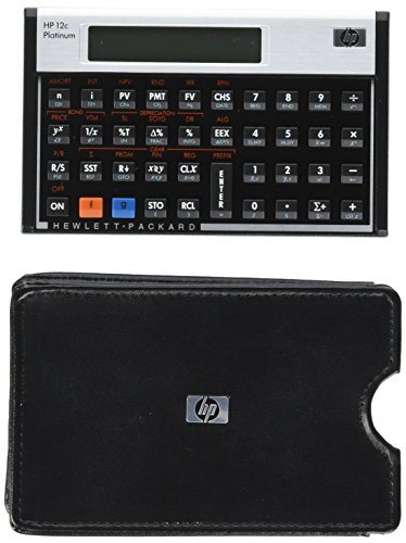 HP 12C Platinum Calculator (Real Estate Appraisal From Value To Worth)