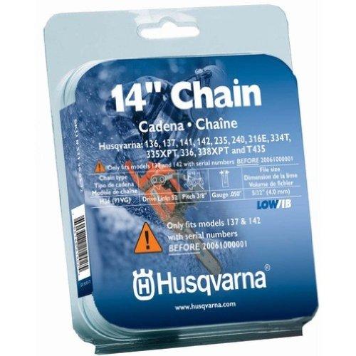 Husqvarna 531300372 14-Inch H36-52 (91VG) Lo-Pro Saw Chain, 3/8-Inch by .050-Inch by Husqvarna