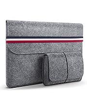 HOMIEE Custodie Morbide, Custodia MacBook Borse per PC Portatili 13-15.6 in Feltro