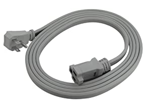Prime EC680509L Air Conditioner and Major Appliance Extension Cord, Gray, 9-Feet