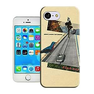 DIY ARTICLE?115 Heres-Where-Fun-Beging-Road-Map-Sammy-Slabbinck-retro-nostalgic-collage-designCustom Unique Creative Art Pattern Cell Phone Case For iPhone5c