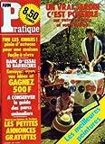 PRATIQUE [No 38] du 01/06/1982 - UN VRAI JARDIN C'EST POSSIBLE SUR VOTRE TERRASSE ET VOTRE BALCON - LES MEILLEURES PEINTURES - ASTUCES POUR UNE MAISON FACILE A VIVRE - LES BARBECUES - LES PETITES ANNONCES