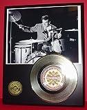 #2: Gene Krupa 24Kt Gold Record LTD Edition Display