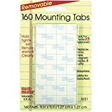 160 Mounting Tabs--Removable, 1/2''