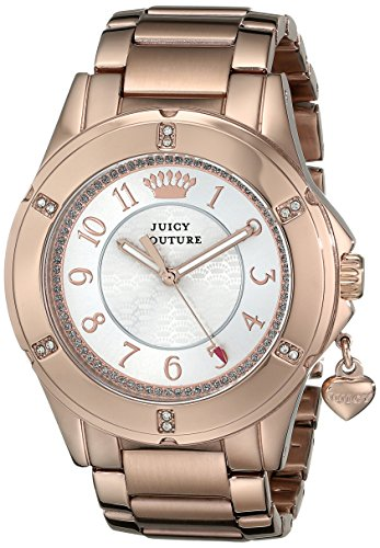 Juicy Couture Women's 1901201 Rich Girl Analog Display Quartz Rose Gold Watch