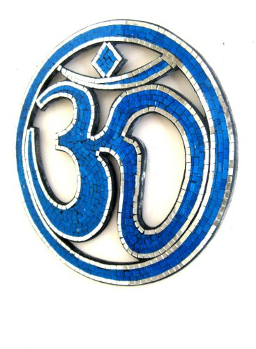 om-sign-aum-sign-meditation-wall-hanging-decor-om-peace-statue-mosaic-wall-miror-blue-collectors-ite